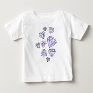 T-shirt de diamants d'éblouissement