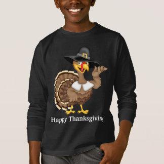 T-shirt de dinde de vacances de bon thanksgiving