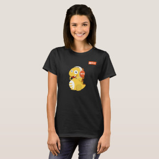 T-shirt de Dino de casque de VIPKID