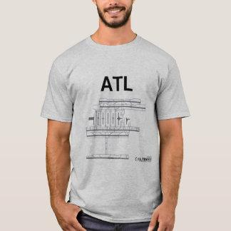 T-shirt de disposition d'aéroport d'ATL