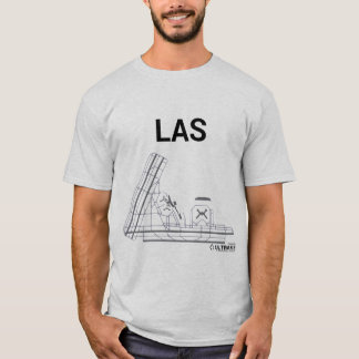 T-shirt de disposition d'aéroport de LAS