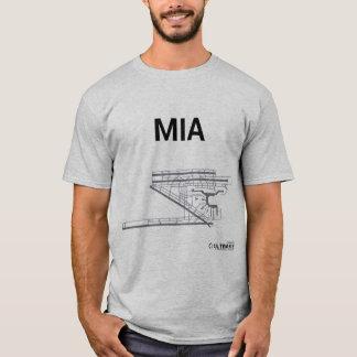 T-shirt de disposition d'aéroport de MIA