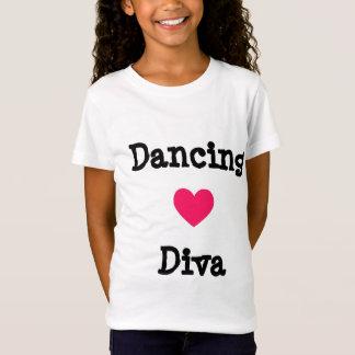 T-shirt de diva de danse