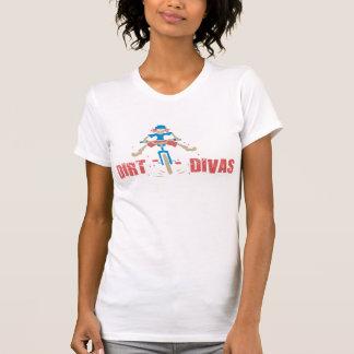 T-shirt de diva de saleté