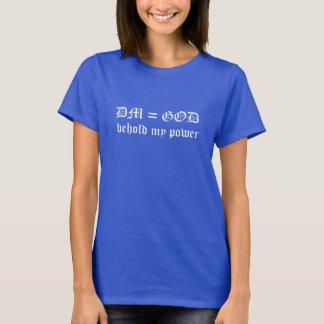 T-shirt de DM=God