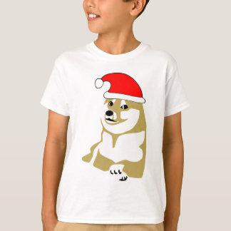 T-shirt de doge wouah de meme Noël très un tel casquette