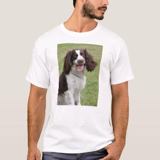 T-shirt de dogunisex d'épagneul de springer