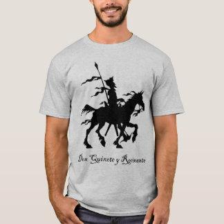 T-shirt de Don don Quichotte y Rocinante