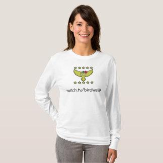 T-shirt de douille d'abonné de tic long