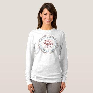 T-shirt de douille de drame de période de Jane