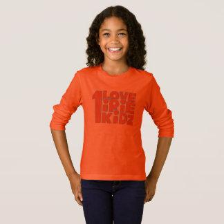 T-shirt de douille de filles d'IRIE KIDZ long