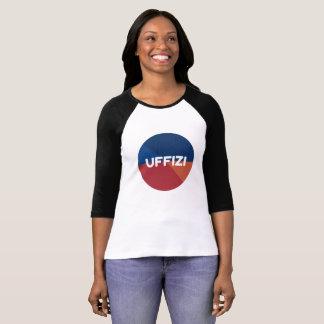 T-shirt de douille de logo d'Uffizi