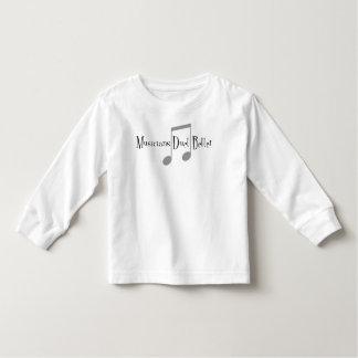 T-shirt de douille d'enfant en bas âge de duo