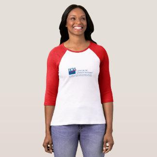 T-shirt de douille du raglan 3/4 de LWVAH