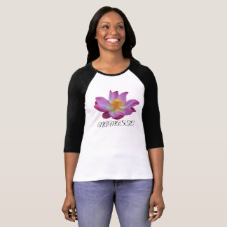 T-shirt de douille du ` s 3/4 de femmes de Namaste