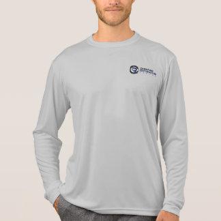 T-shirt de douille du Sport-Tek des hommes du