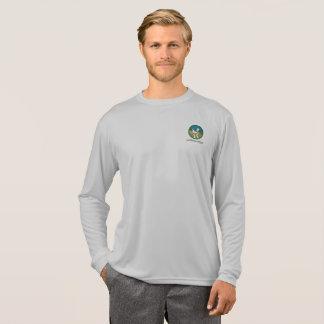 T-shirt de douille du Sport-Tek des hommes long