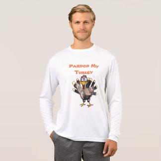 T-shirt de douille du Sport-TekLong des hommes de
