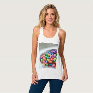 T-shirt de dragée à la gelée de sucre
