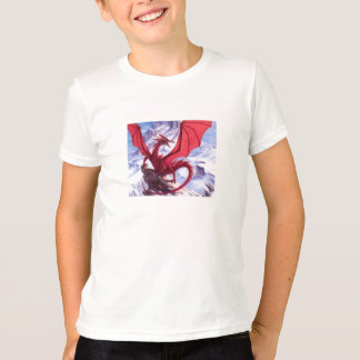 T-shirt de dragon