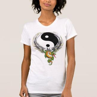 T-shirt de dragon de Yin Yang