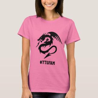 T-shirt de dragon du #YTGFam des femmes