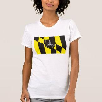 T-shirt de drapeau de Baltimore