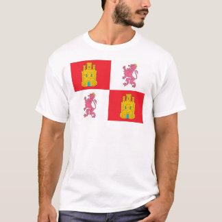 T-shirt de drapeau de Castille et de Léon