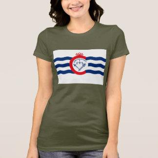 T-shirt de drapeau de Cincinnati