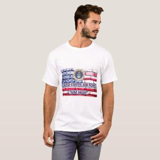 T-shirt de drapeau de devise de but de l'Armée de