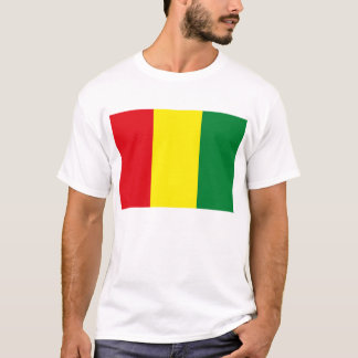 T-shirt de drapeau de Guinée