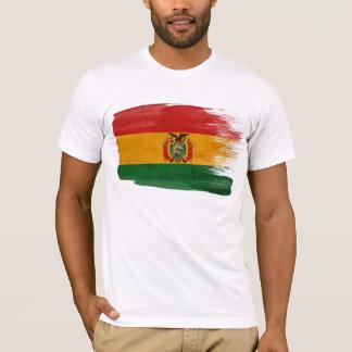 T-shirt de drapeau de la Bolivie