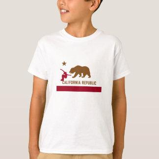 T-shirt de drapeau de la Californie - faites du