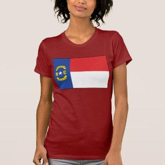 T-shirt de drapeau de la Caroline du Nord