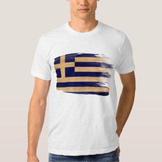 T-shirt de drapeau de la Grèce