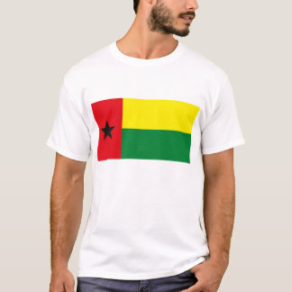 T-shirt de drapeau de la Guinée-Bissau