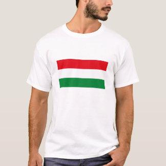 T-shirt de drapeau de la Hongrie