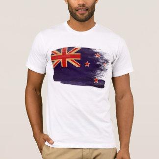 T-shirt de drapeau de la Nouvelle Zélande