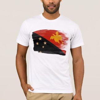 T-shirt de drapeau de la Papouasie-Nouvelle-Guinée