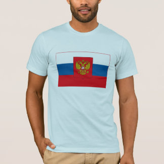 T-shirt de drapeau de la Russie