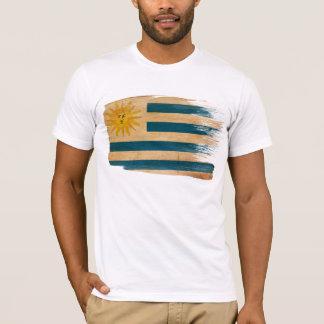 T-shirt de drapeau de l'Uruguay