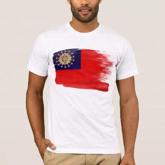 T-shirt de drapeau de Myanmar