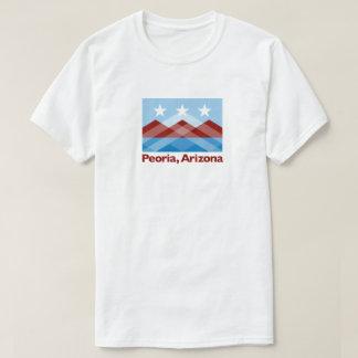 T-shirt de drapeau de Peoria