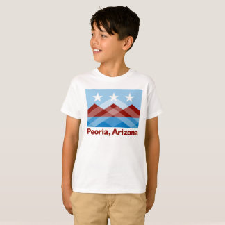 T-shirt de drapeau d'enfants