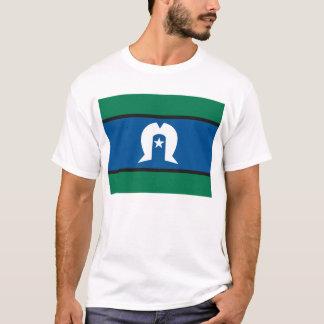 T-shirt de drapeau d'îles de détroit de Torres