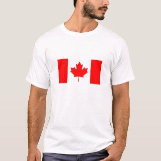 T-shirt de drapeau du Canada