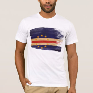T-shirt de drapeau du Cap Vert
