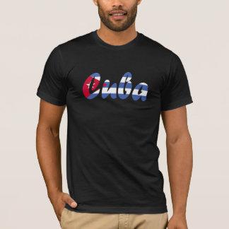 T-shirt de drapeau du Cuba