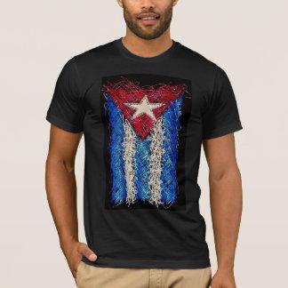 T-shirt de drapeau du Cuba Arte
