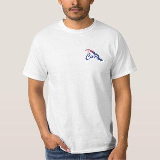 T-shirt de drapeau du Cuba - étiquette de LIBRE